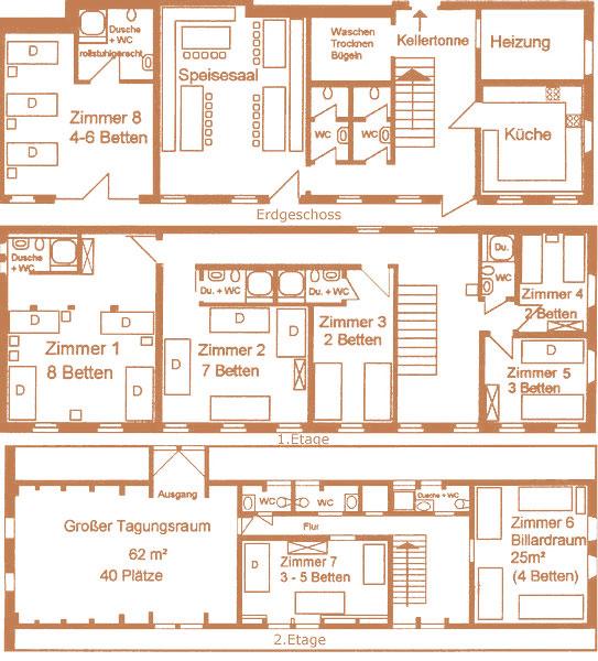 Zimmerangebot Rüstzeitheim Zehren
